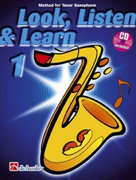 Look Listen & Learn 1 Tenor Sax: Book & Cd (sparke)