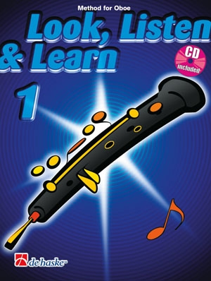 Look Listen & Learn 1 Oboe: Book & Cd (Sparke)