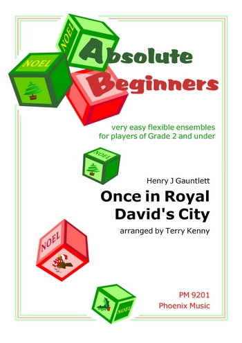 Absolute Beginners: Once In Royal Davids City: 4 Part Flex Ensemble