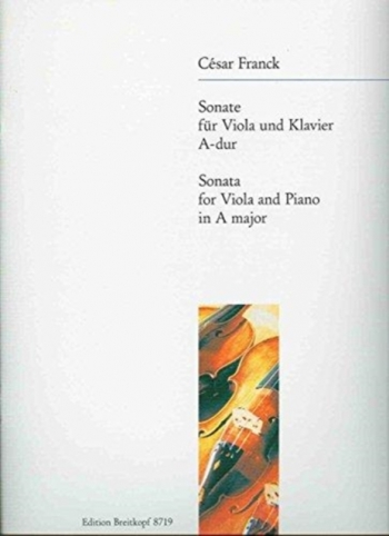 Sonata: A Major: Viola And Piano (Breitkopf)