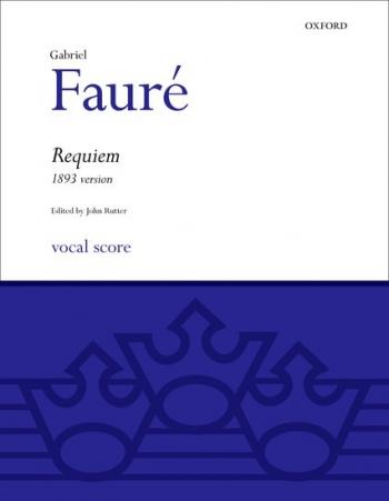Requiem 1893 Version: Vocal Score (oup)