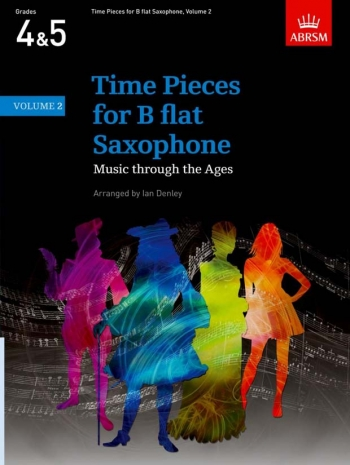 Time Pieces For Tenor Saxophone Vol.2: Sax & Piano (ABRSM)