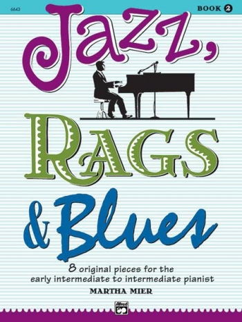 Jazz Rags & Blues Book 2 Piano (mier)