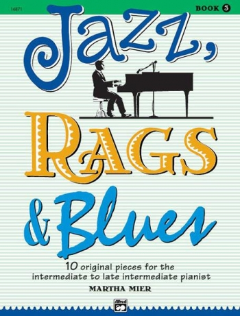 Jazz Rags & Blues Book 3 Piano (mier)