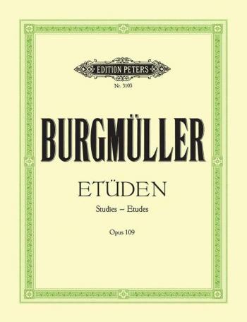 18 Etudes Op109: Piano (Peters)