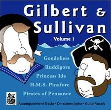 Stage Wars: Gilbert and Sullivan Vol1: Cd Background Tracks: With and With Vocals and Lyrics
