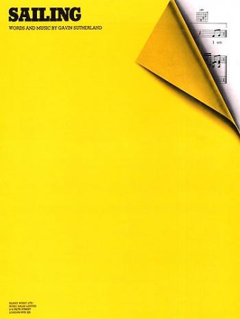Sailing - Piano Vocal Guitar -  (rod Stewart) (single Sheet)