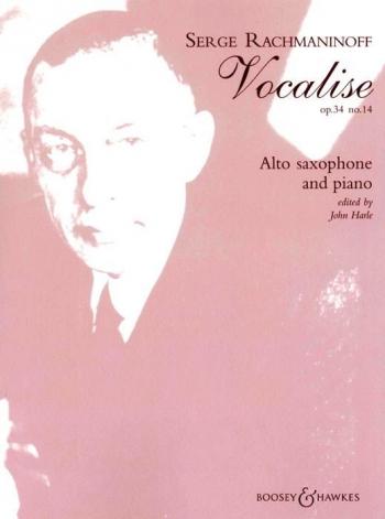 Vocalise Op34: 14: Alto Saxophone