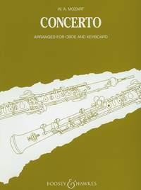 Oboe Concerto: Oboe & Piano (B&H)