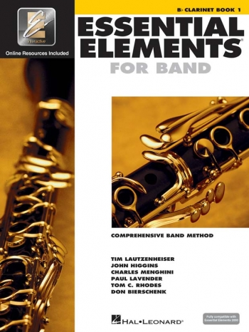Essential Elements 2000 Book 1: Bb Clarinet: Book & CD Rom
