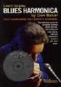 Learn To Play Blues Harmonica: Bk&cd