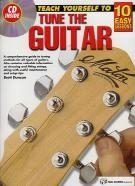 10 Easy Lessons Teach Yourself To Tune The Guitar: Book & Cd