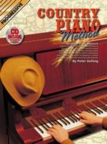Progressive Country Piano Method: Book & CD  (Gelling)