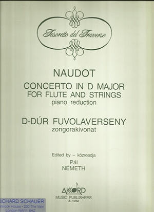 Concerto D Major: Flute and Strings