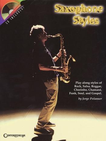Saxophone Styles: Alto Sax: Bk&cd