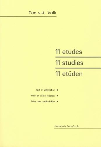 11 Studies: Treble Recorder