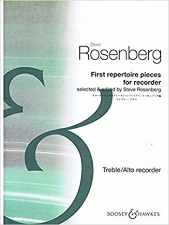 First Repertoire Pieces For Recorder: Treble Or Alto Recorder and Piano