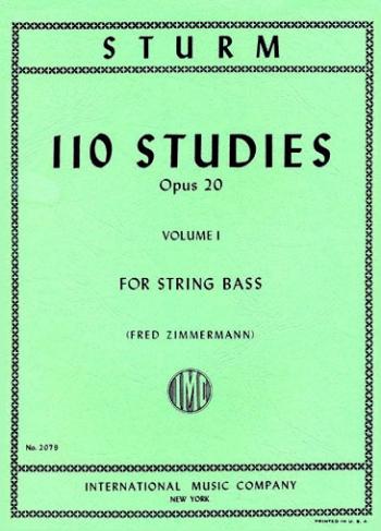 110 Studies Op20 No.1: Double Bass