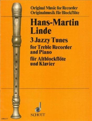 3 Jazzy Tunes: Treble Recorder and Piano