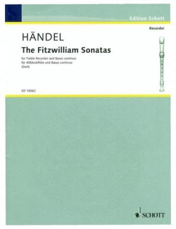 Fitzwilliam Sonatas: Treble Recorder and Piano