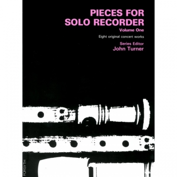 Pieces For Solo Recorder: 1: Recorder Solo