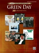 Green Day: 20 Greatest Hits: Easy Guitar Tab (Easy Guitar Anthology)
