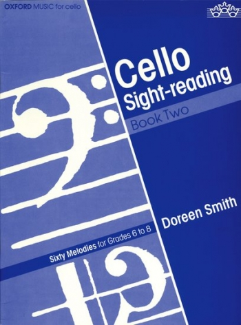 Cello Sight-reading: Grades 6-8: Violoncello: Book 2 (Oxford)