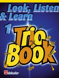 Look Listen & Learn 1 Trio Book: Alto Saxophone (sparke)
