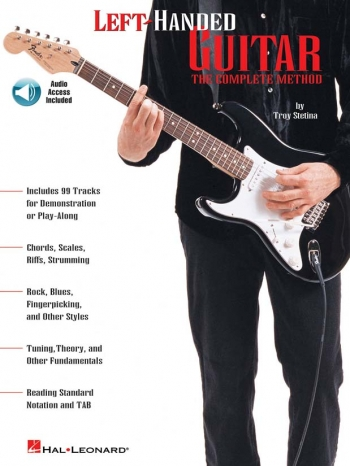 Left Handed Guitar Complete Method: Guitar (Stetina)