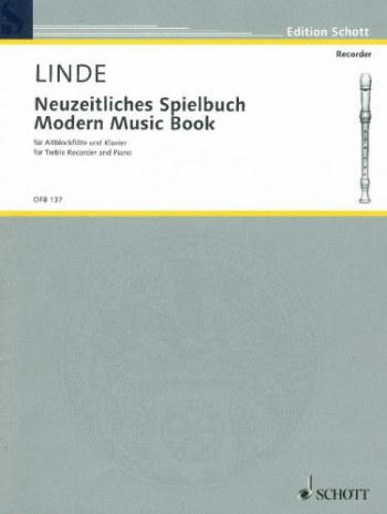 Modern Music Book For The Treble Recorder