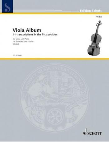 Schott Viola Album: Transcripts In The First Position: Viola