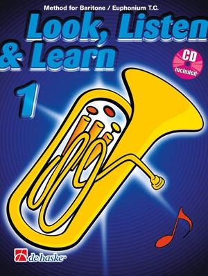 Look Listen & Learn 1 Euphonium & Baritone Treble Clef: Book & Cd (sparke)