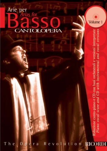 Cantolopera: Arias For Bass Vol 1: Vocal