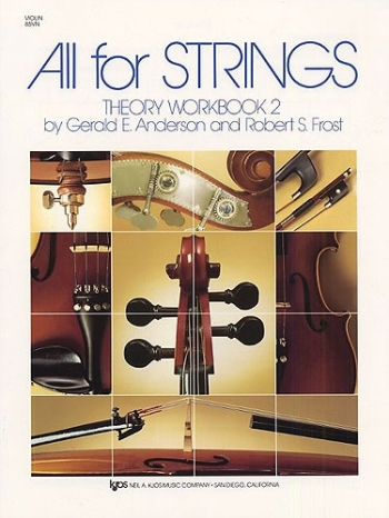 All For Strings: 2: Violin: Theory Workbook
