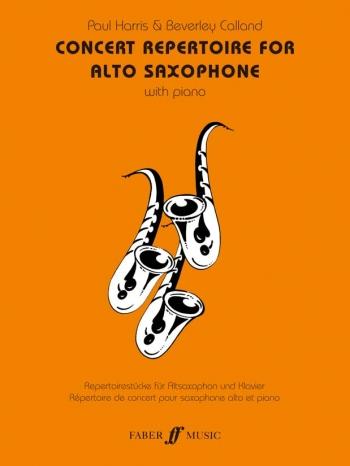 Concert Repertoire: Alto Saxophone & Piano