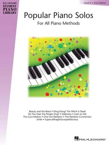 Hal Leonard Student Piano Library: Book 2: Popular Piano Solos