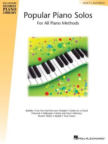 Hal Leonard Student Piano Library: Book 3: Popular Piano Solos