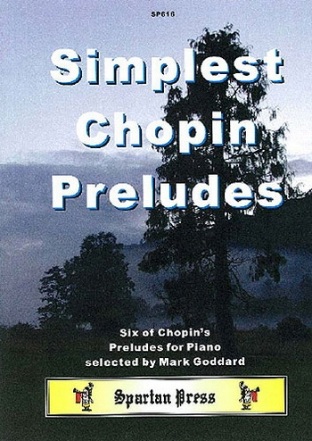 Simplest Chopin Preludes: Piano