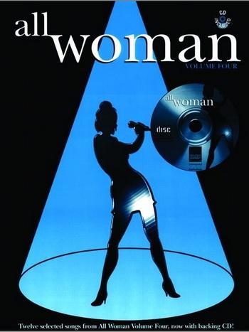 All Woman: 4: Piano Vocal Guitar: Bk&cd