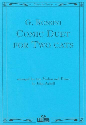 Comic Cat Duet: 2 Violins and Piano