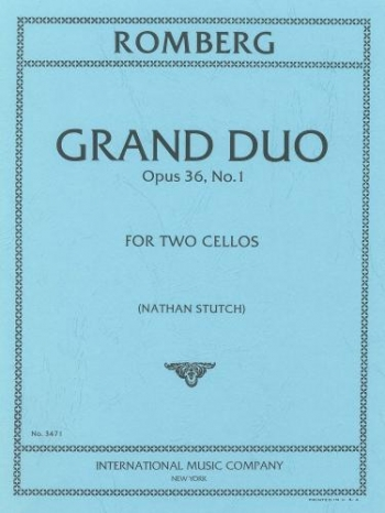 Grand Duo Op.36 No1: Two Cellos: Duet