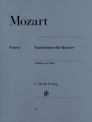 Variations: Piano  (Henle Ed)