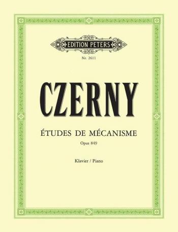 30 Studies Of Mechanism Op.849 Piano (Peters)
