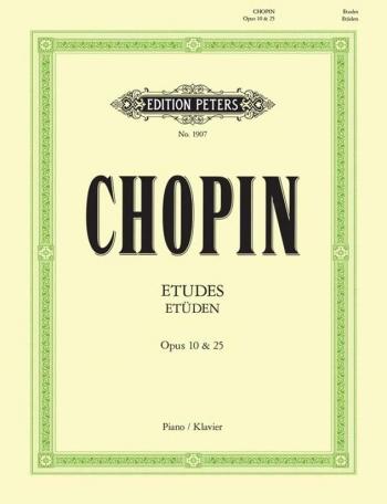 Etudes: Piano Studies: Op.10 To Op.25: Complete: Piano (Peters)