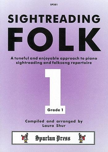 Sight-Reading Folk: Grade 1: Piano
