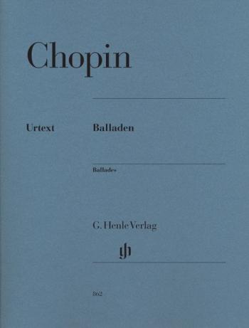 Ballades (Balleden): Piano (Henle)