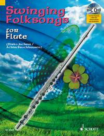 Swinging Folksongs: Play Along: Flute: Book & CD