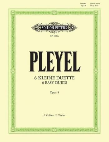 6 Duets: Op8: Violin