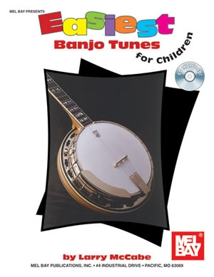 Easiest  Banjo Tunes For Children: Book & CD