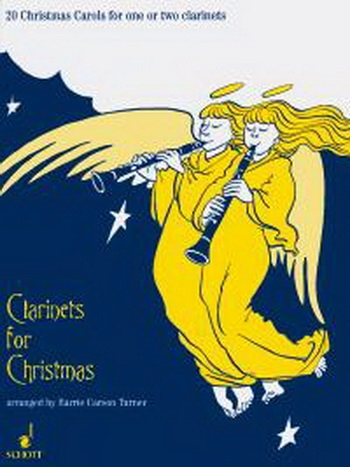 Clarinets For Christmas: Book & CD